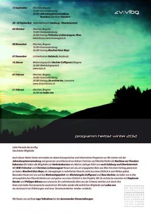 herbstprogramm 2012